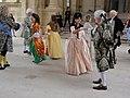 Lunéville, danse baroque groupe Stanislas au château, 3 juillet 2016 (05).jpg