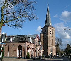 Lunteren - The old church in Lunteren and the direct environment