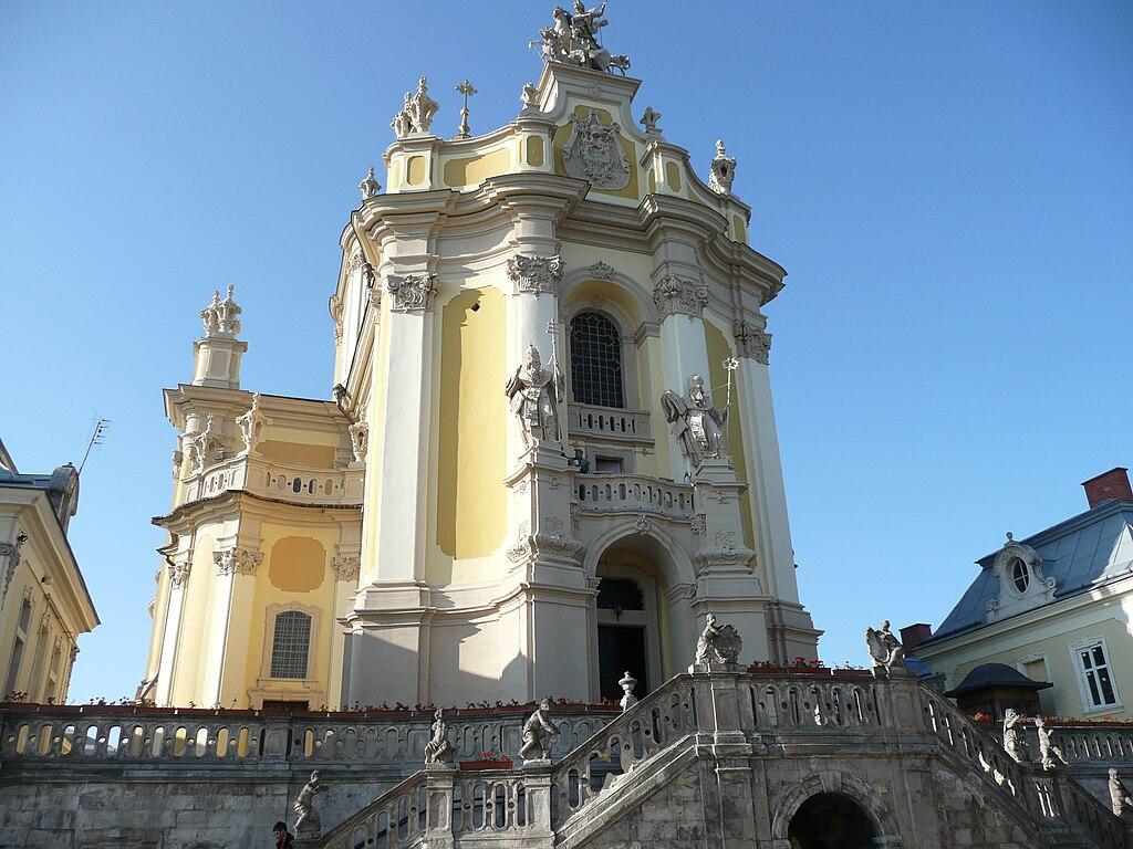 Cathédrale Saint Georges de Lviv.