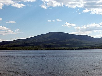 Lyon Mountain (Clinton County, New York) - Lyon Mountain seen from Chazy Lake