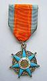 Médaille ruban, Ministère du travail, Mérite social. Avers.JPG