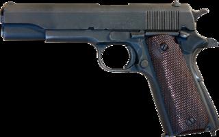M1911 pistol semi-automatic pistol