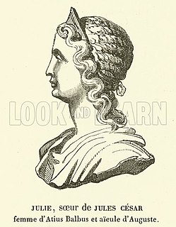 Julia Minor (sister of Caesar) Second eldest sister of Julius Caesar and grandmother of Augustus