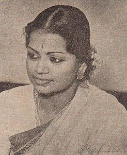M. L. Vasanthakumari Indian musician