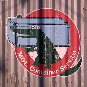 Mitsui O.S.K. Lines - MOL container logo