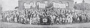 Macedonian Patriotic Organization - The 6th annual convention of the MPO in Akron, Ohio, 1927