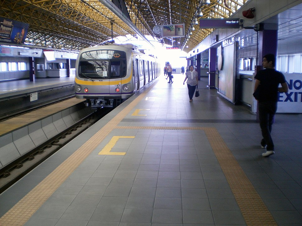 MRT-2 Araneta Center-Cubao Station