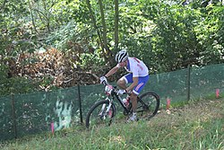 MTB cycling 2012 Olympics M cross-country RUS Evgeniy Pechenin.jpg
