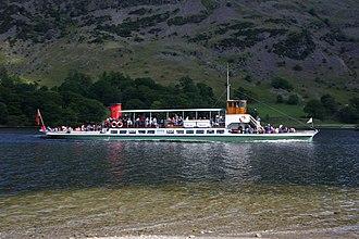 Ullswater 'Steamers' - Image: MV Raven (7341230058)