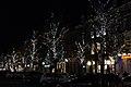 Maastricht, kerstverlichting 2014, Stationsstraat.JPG