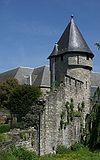 foto van Resten van de 2e middeleeuwse stadsmuur, met o.a. Pater Vinktorentje.