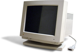 A Apple Macintosh Color Display