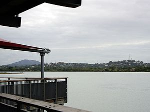 Mackay view over Pioneer River