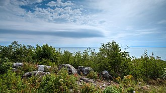 Mackinac Island State Park - Image: Mackinac Island HDR n 8 1