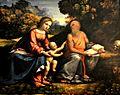 Madonna col Bambino e san Girolamo, Benvenuto Tisi da Garofalo 001.JPG