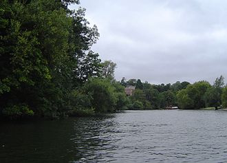 Magpie Island - Magpie Island with Culham Court beyond