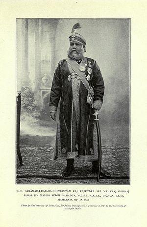 Man Singh II - Maharaja Sawai Madho Singh II