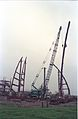 Main Auditorium Under Construction - Convention Centre Complex - Science City - Calcutta 1994-11-03 472.JPG