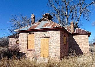 Little Boquillas Ranch - Image: Main House Little Boquillas Ranch Arizona 2015