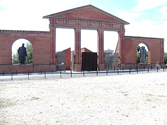 Main entrance of the Memento Park.JPG