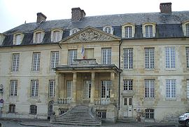Town hall in the château de Viarmes