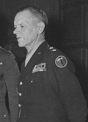 Charles H. Corlett - Image: Maj Gen Charles Corlett awards Silver Star 111 SC 193552cropped