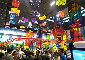 Mall of Travancore - Kids Playing Area