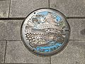 Manhole cover of Nakatsu, Oita 2.jpg
