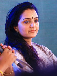 Manju Warrier in KLF 2018.jpg