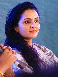 Manju Warrier Indian actress