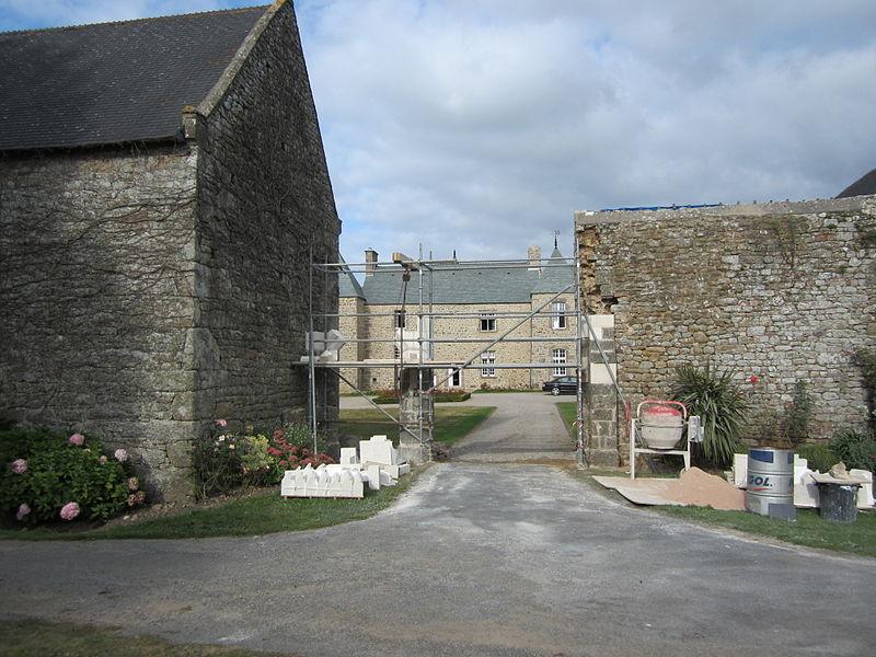 Manoir de fr:Maupertus-sur-Mer