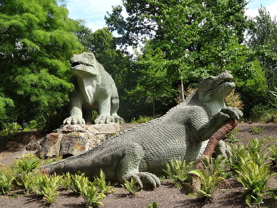 Mantellodon in Crystal Palace Park