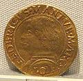 Mantova, federico I gonzaga marchese, oro, 1478-1484.JPG