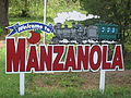 Manzanola, CO, welcome sign IMG 5645.JPG
