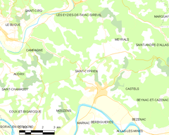 Map commune FR insee code 24396.png