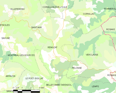 Map commune FR insee code 26264.png