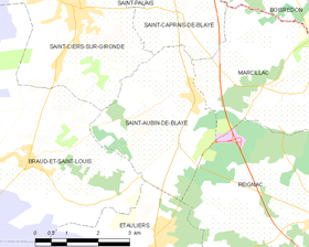 Map commune FR insee code 33374.png