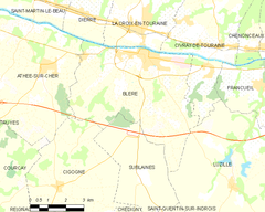 Map commune FR insee code 37027.png