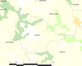 Map commune FR insee code 40144.png