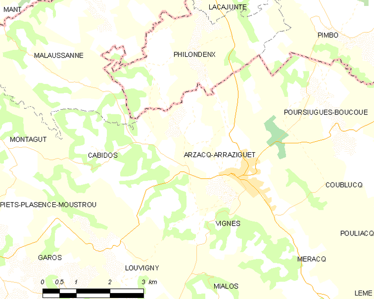 File:Map commune FR insee code 64063.png