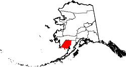 Map of Alaska highlighting Dillingham Census Area.svg