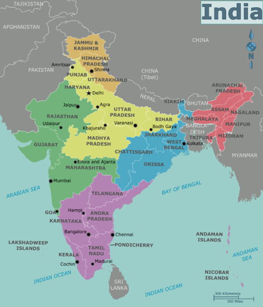 India Our Country: Physical Divisions of India, Location ...