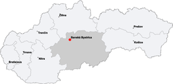 Map slovakia banska bystrica.png