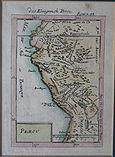 Mapa del Perú. 1683. Das Königreich Perou