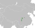 Mapa distribuicao Ailuropoda melanoleuca.png