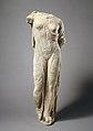 Marble statue of Aphrodite, the so-called Venus Genetrix MET GR100.jpg
