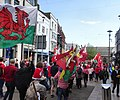 March for Welsh Independence arranged by AUOB Cymru First national march; Wales, Europe 43.jpg