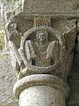 Marcilhac-sur-Celé (46) Abbaye Salle capitulaire Chapiteau 10.JPG