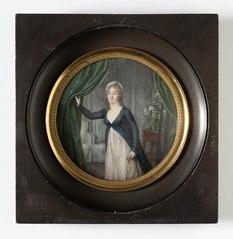 Marie Suzanne Doucet de Surigny, g. de Bussièrre de Roche (1751-1825), markisinna, svägerska till konstnären