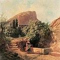 Markó, Ferenc - Italian Garden with Female Figure (1863).jpg